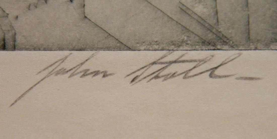 John Stoll etching - 3