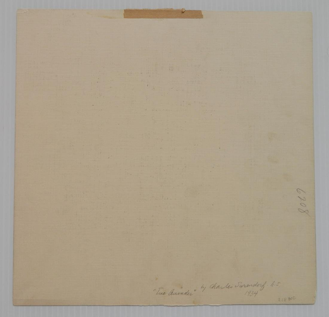 Charles Surendorf 3 linocuts - 7