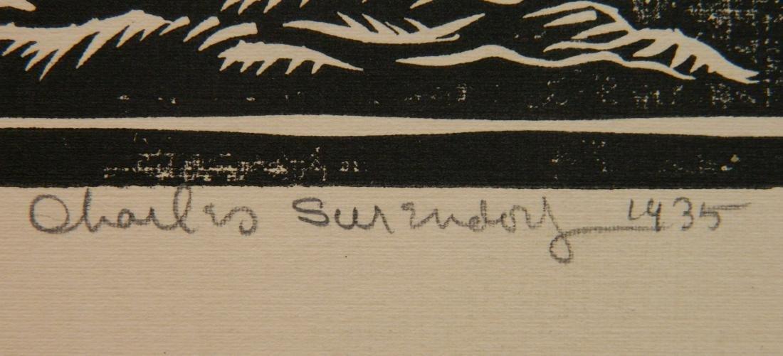 Charles Surendorf 3 linocuts - 9