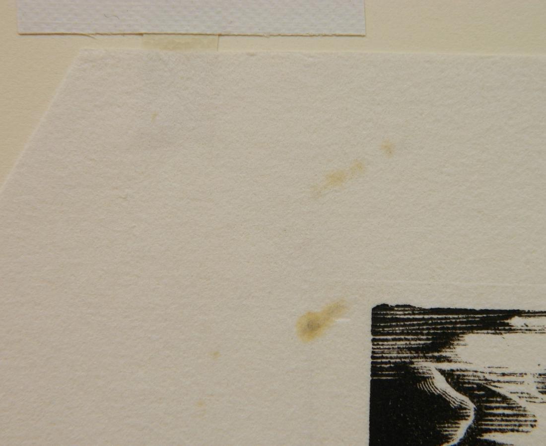 Charles Surendorf 2 woodcuts - 7