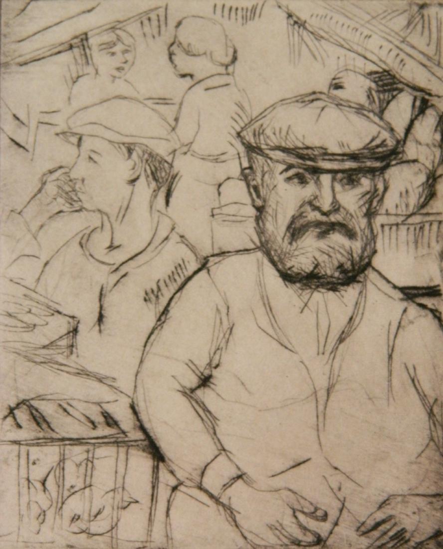 Morris Topchevsky 4 etchings - 6