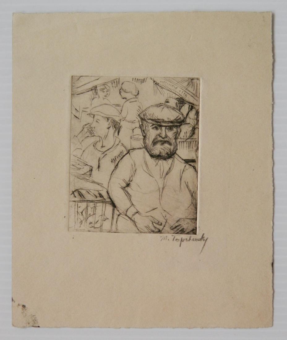 Morris Topchevsky 4 etchings - 7