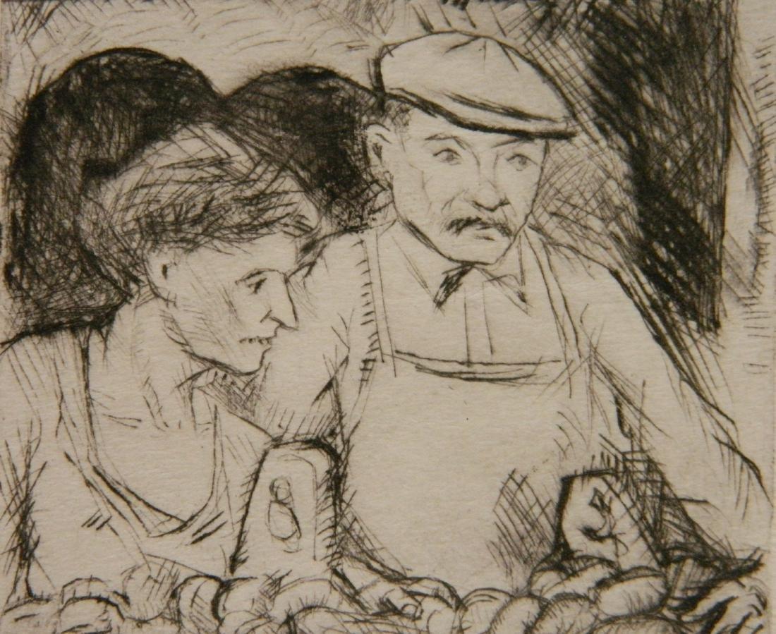 Morris Topchevsky 4 etchings - 8