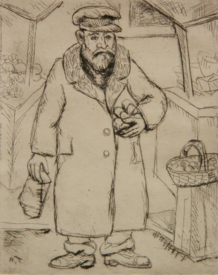 Morris Topchevsky 4 etchings - 9