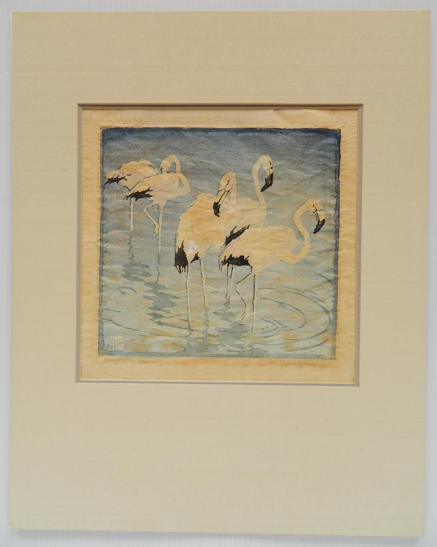 Helen Tupke-Grande woodcut - 2