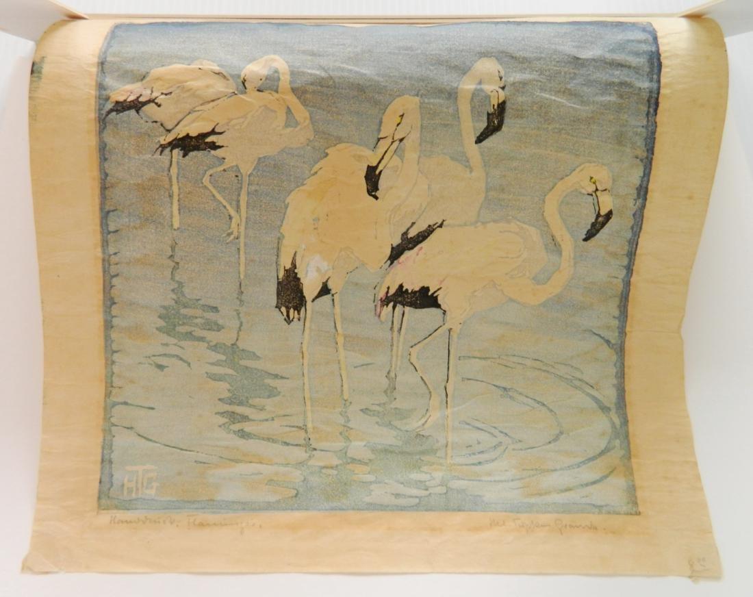 Helen Tupke-Grande woodcut - 3