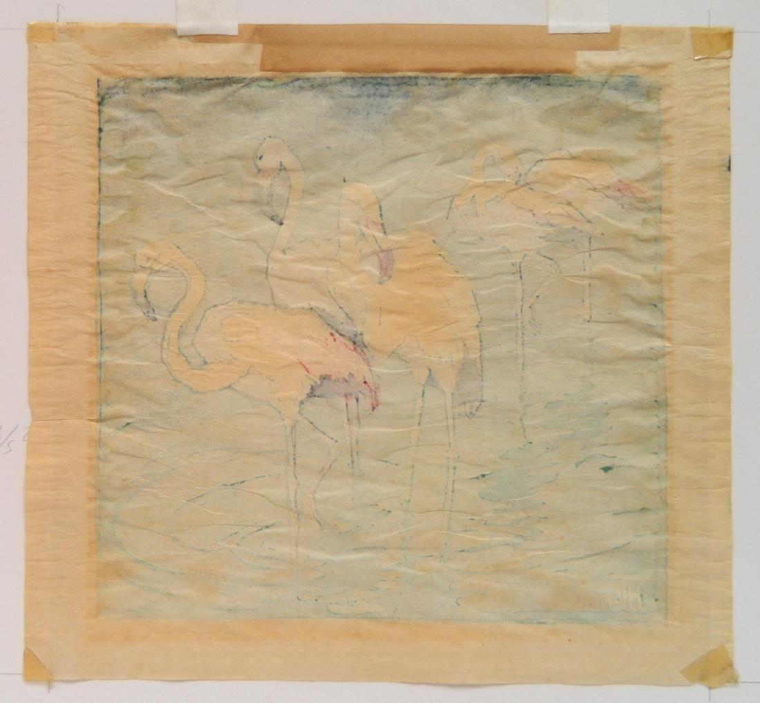Helen Tupke-Grande woodcut - 5