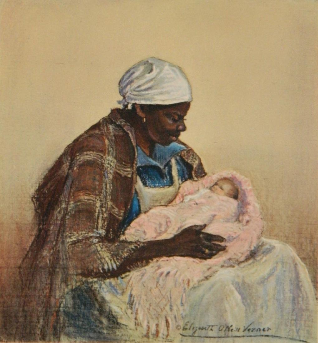 after Elizabeth O. Verner off-set print