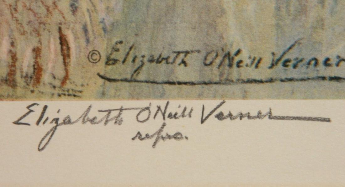 after Elizabeth O. Verner off-set print - 3