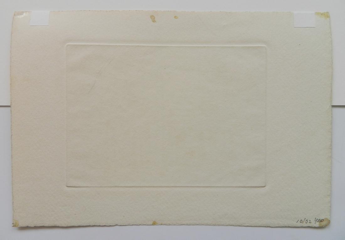 Elisabeth B. Warren 2 etchings - 4