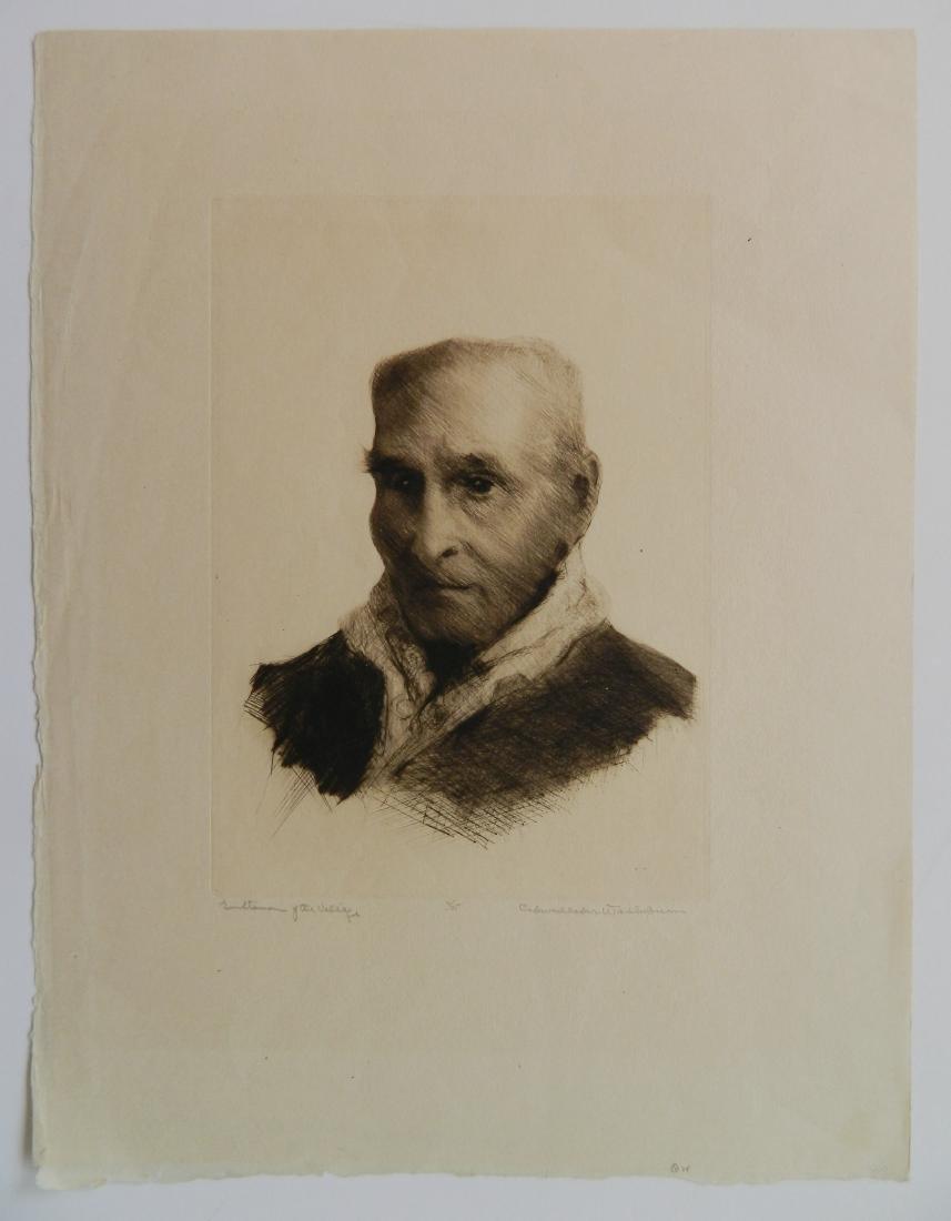 Cadwallader Washburn 2 etchings - 2