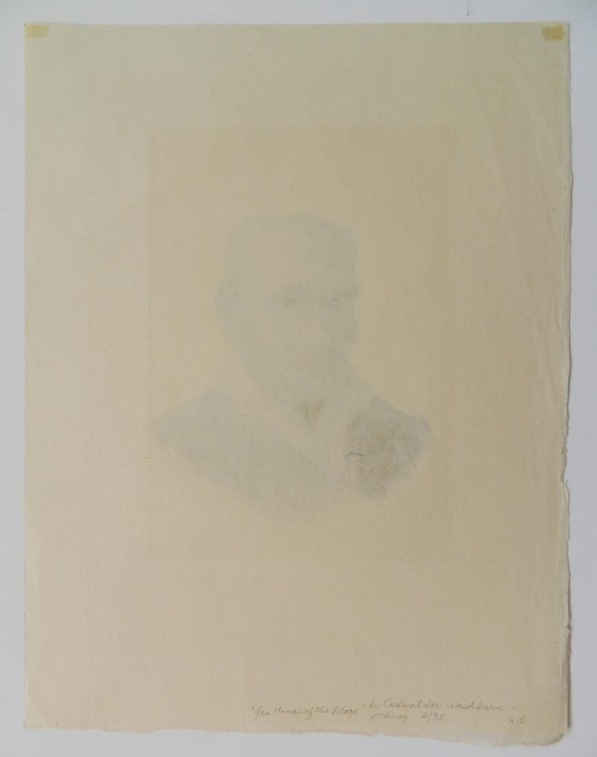 Cadwallader Washburn 2 etchings - 4