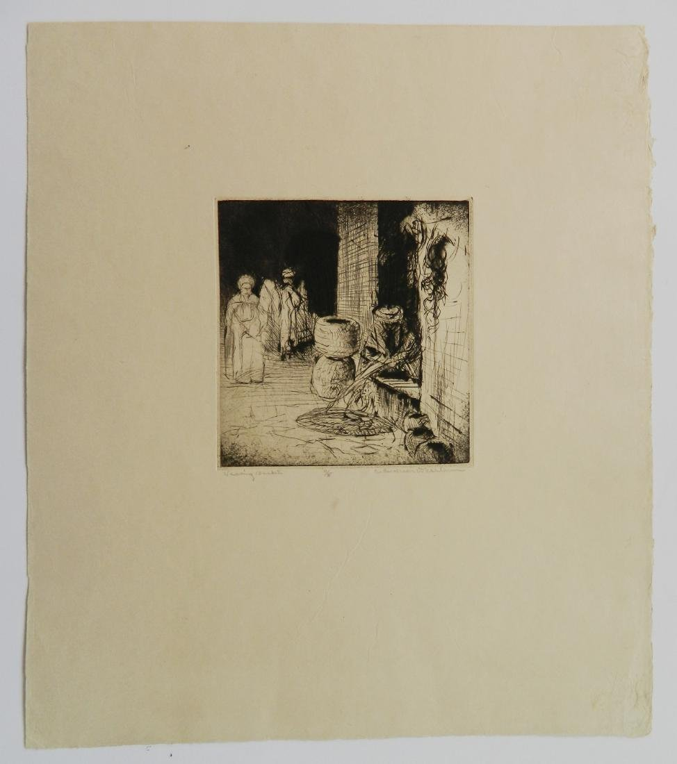 Cadwallader Washburn 2 etchings - 5