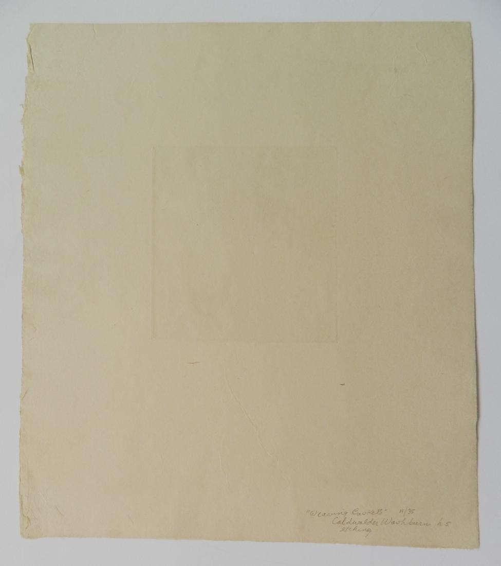 Cadwallader Washburn 2 etchings - 7
