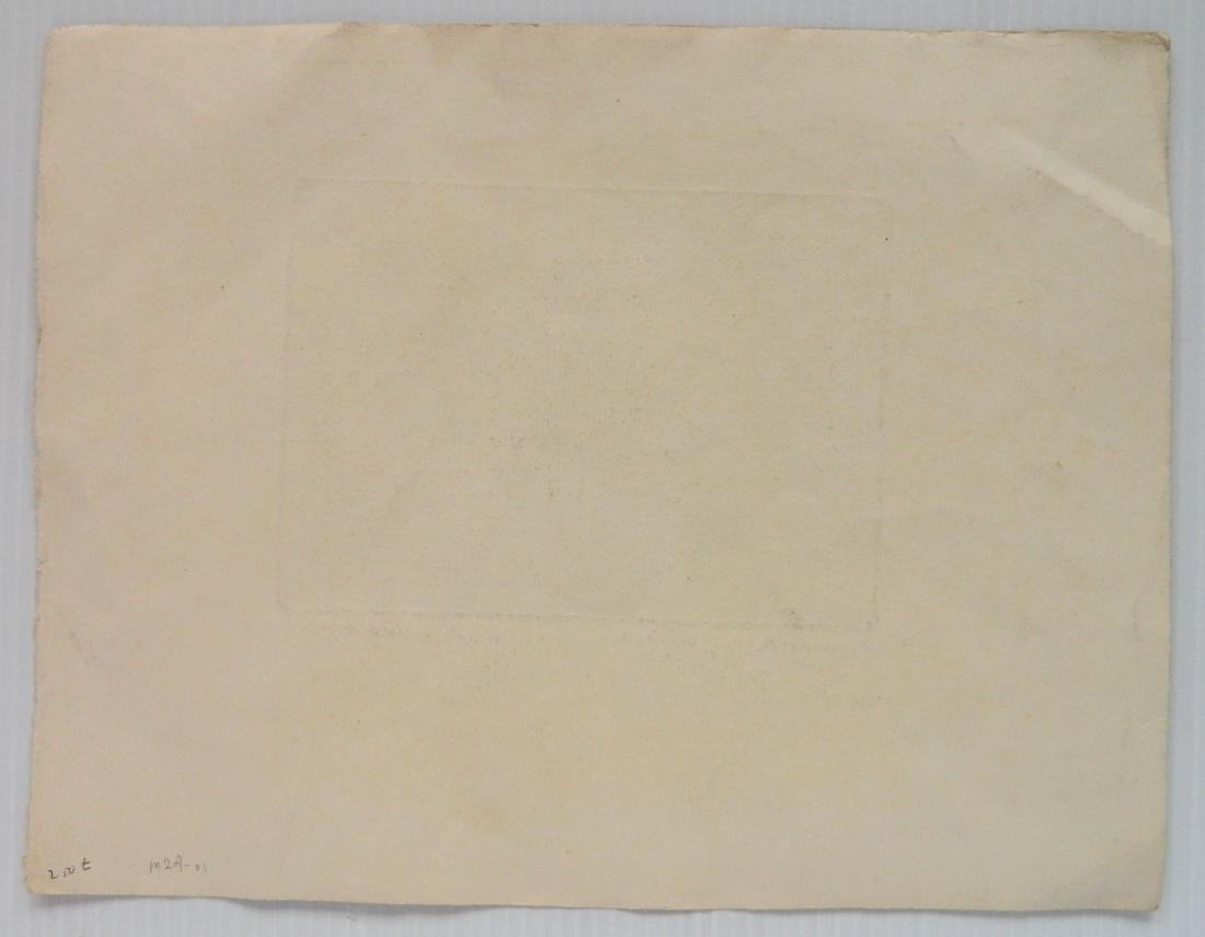 Olaf Wieghorst etching - 4