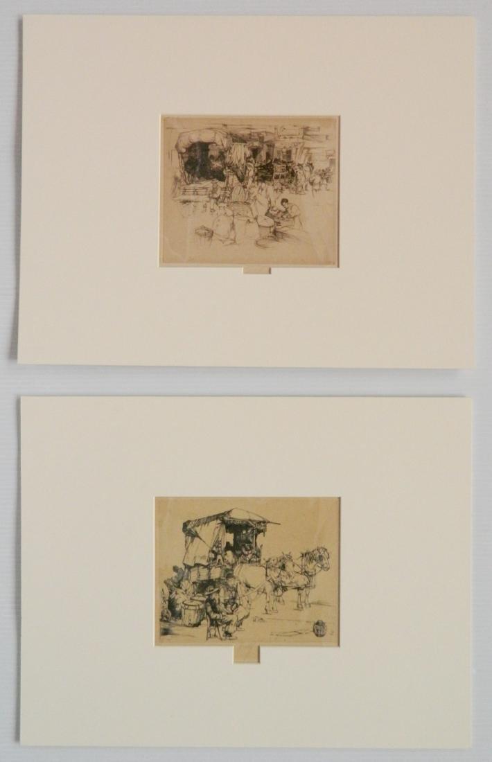John Winkler 2 etchings