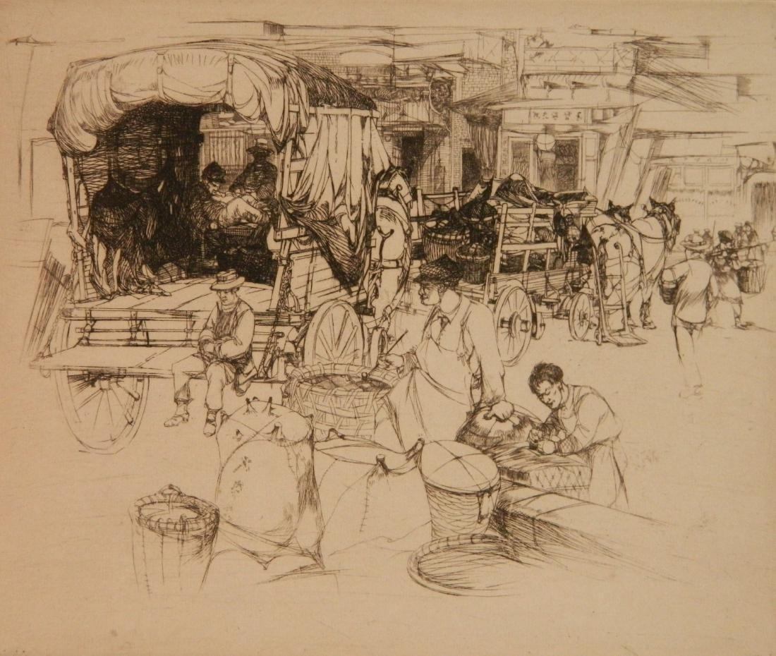 John Winkler 2 etchings - 2