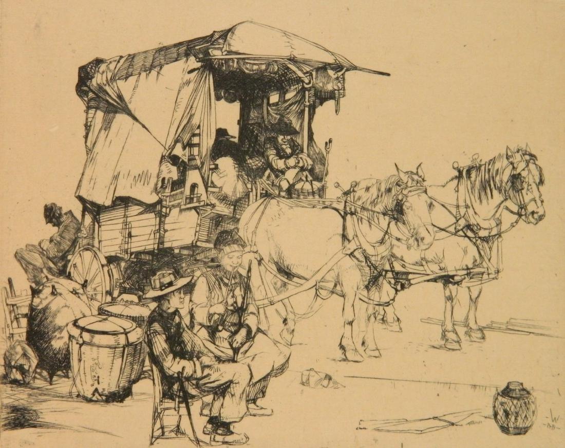 John Winkler 2 etchings - 6
