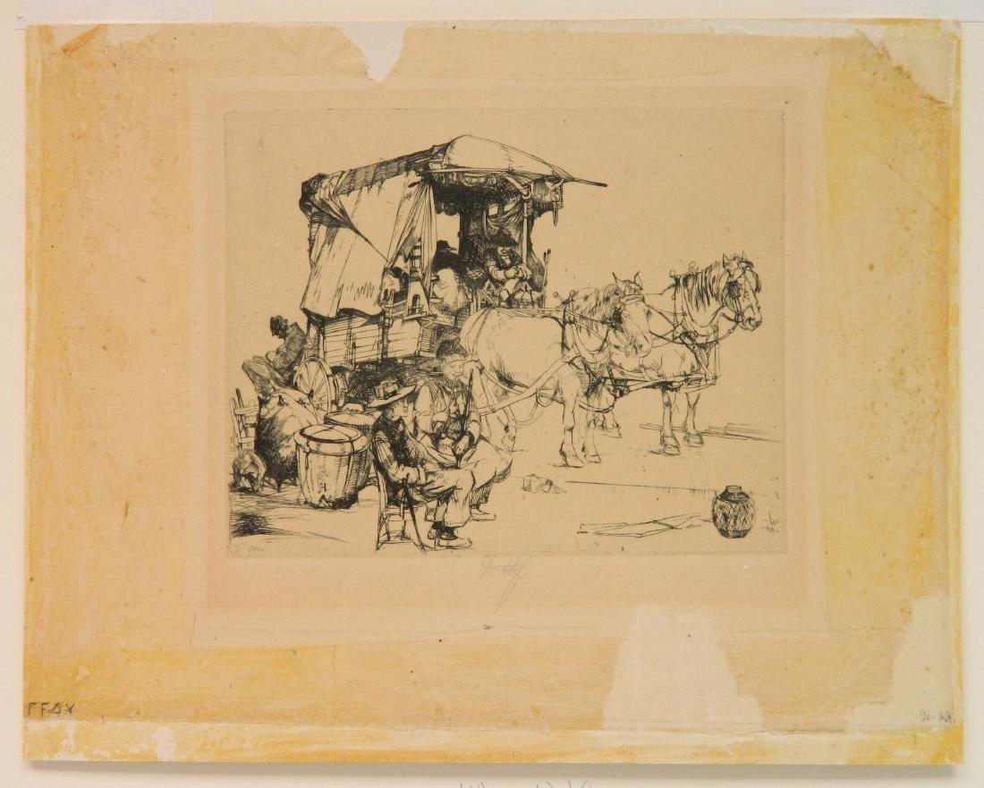 John Winkler 2 etchings - 7