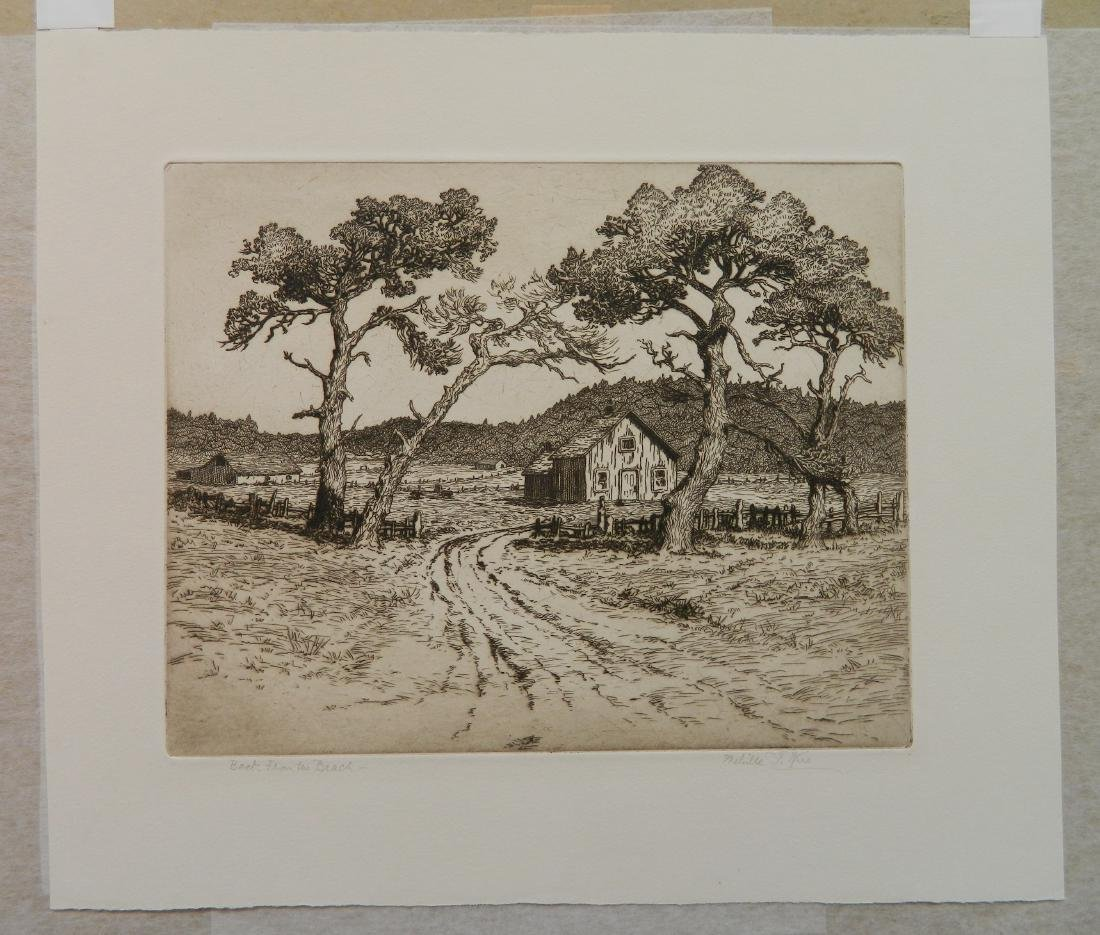 Melville Wire 3 etchings - 5