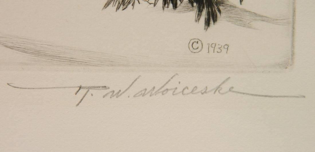 Ronau Woiceske etching - 3
