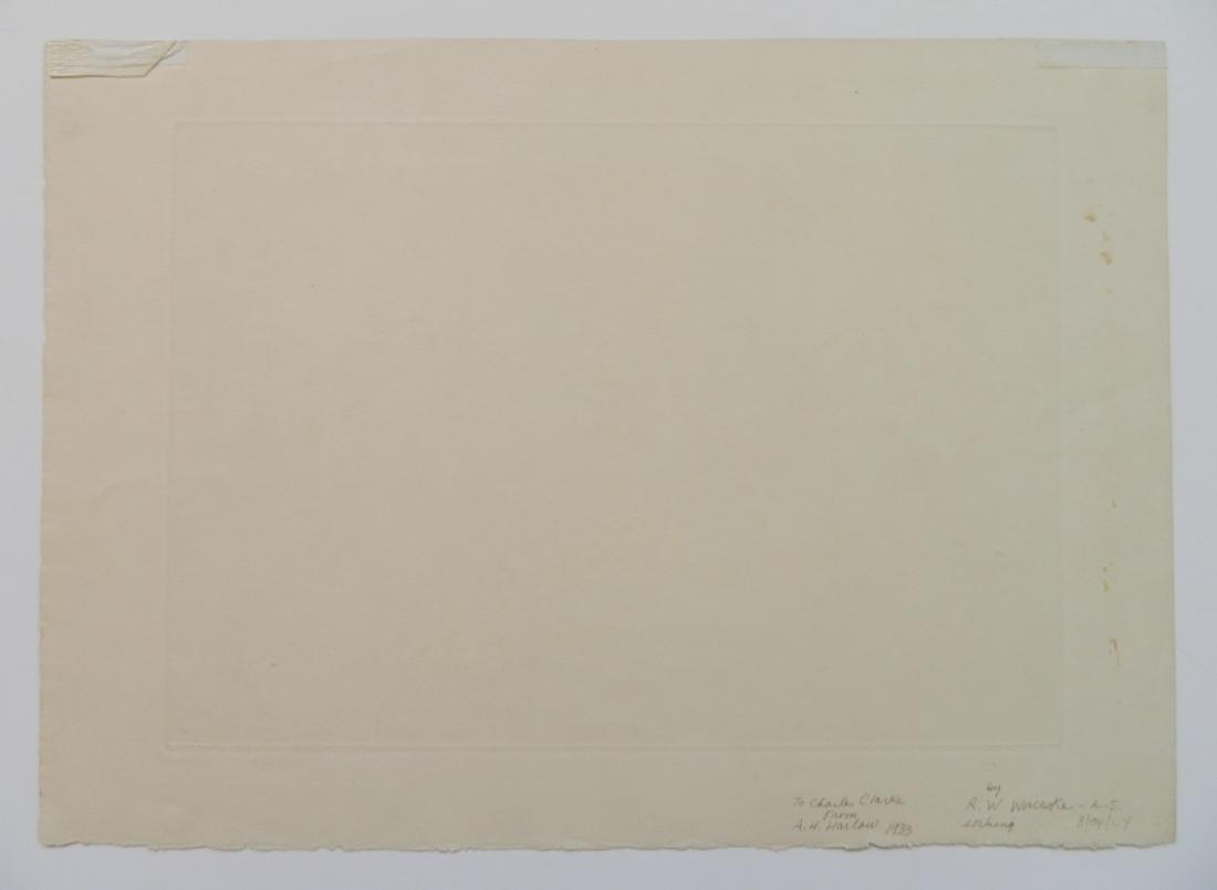 Ronau Woiceske etching - 5