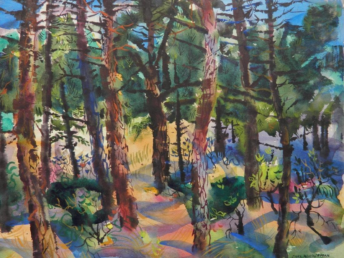 Carl Zimmerman watercolor