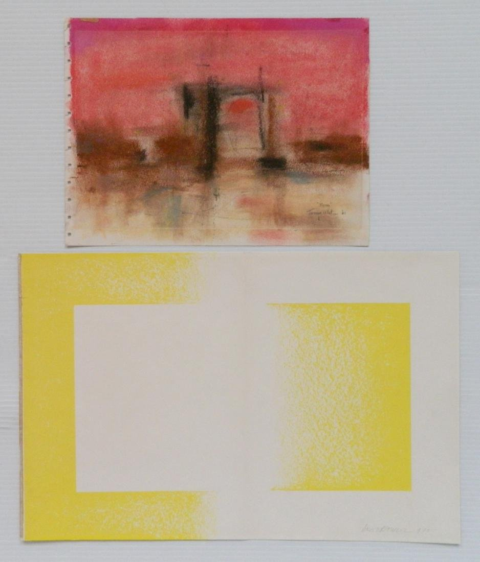 2 Contemporary works on paper