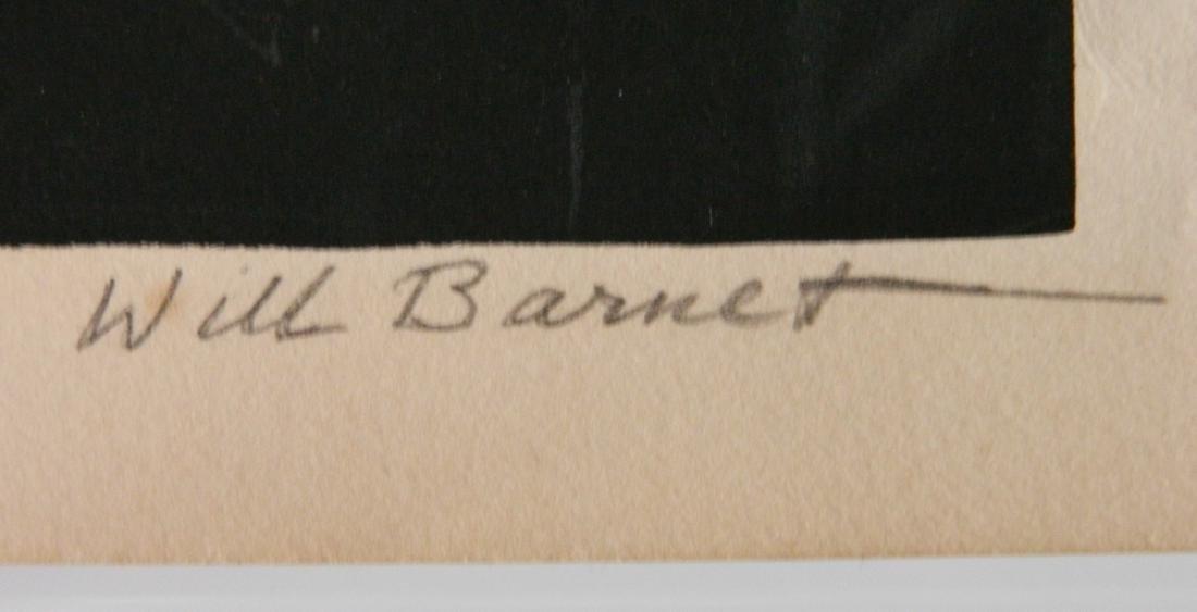 Will Barnet silkscreen - 3