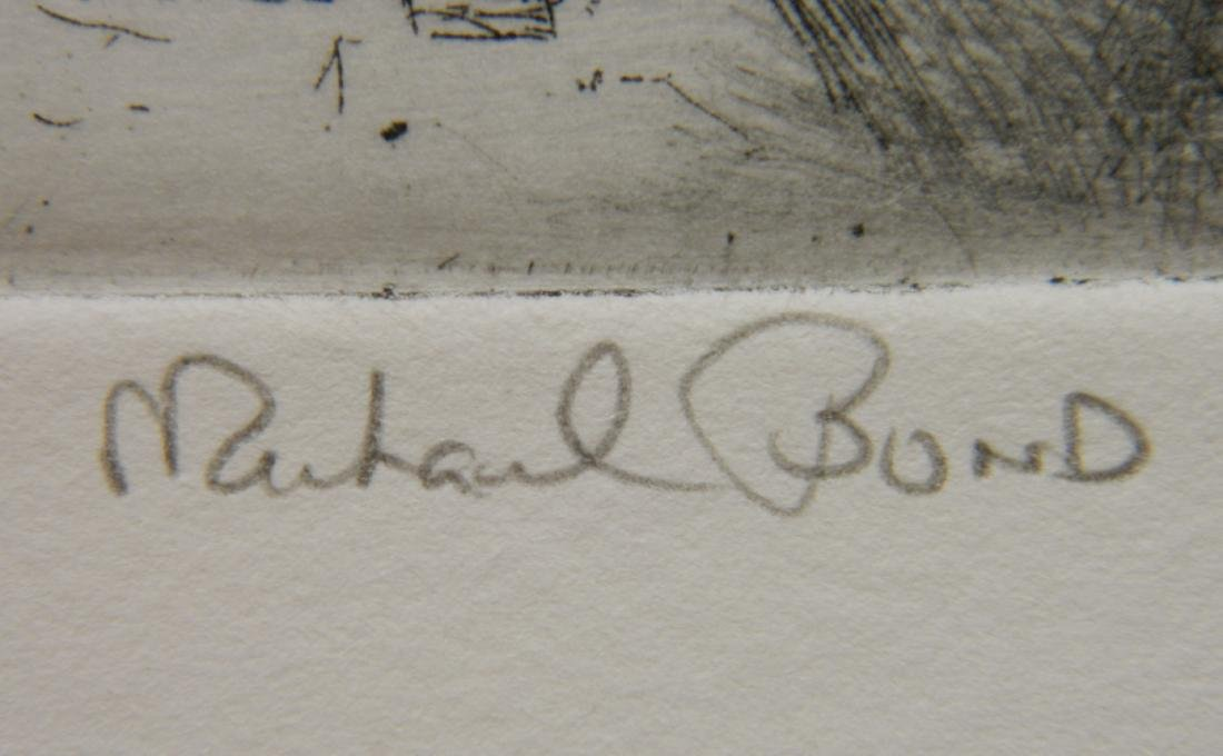 Richard Bond 2 etchings - 3