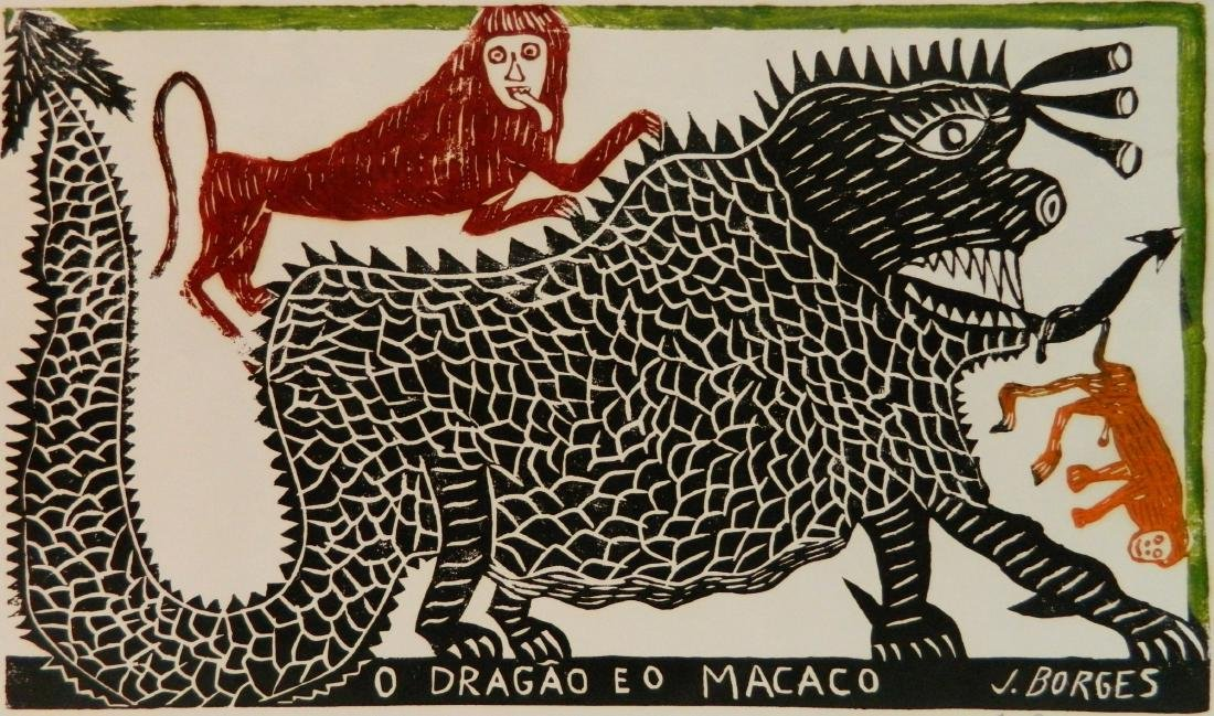 Jose Francisco Borges 2 woodcuts - 2