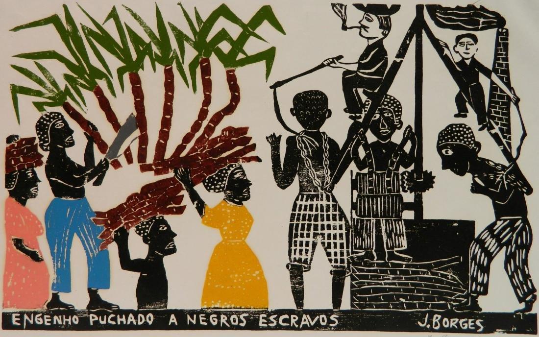 Jose Francisco Borges 2 woodcuts - 4