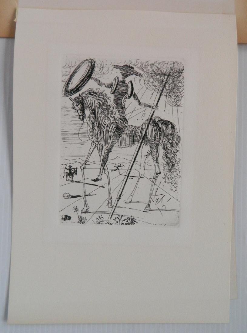 Salvador Dali etching - 2
