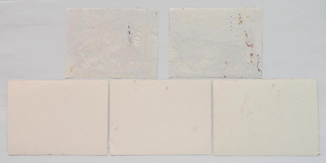 Hilliard Dean 5 watercolors - 2