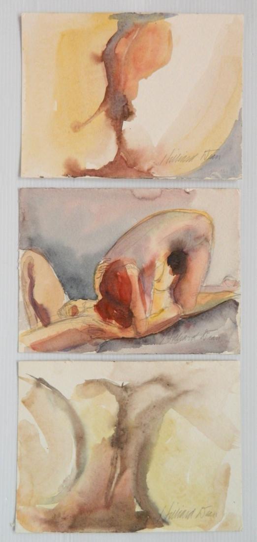 Hilliard Dean 5 watercolors - 3