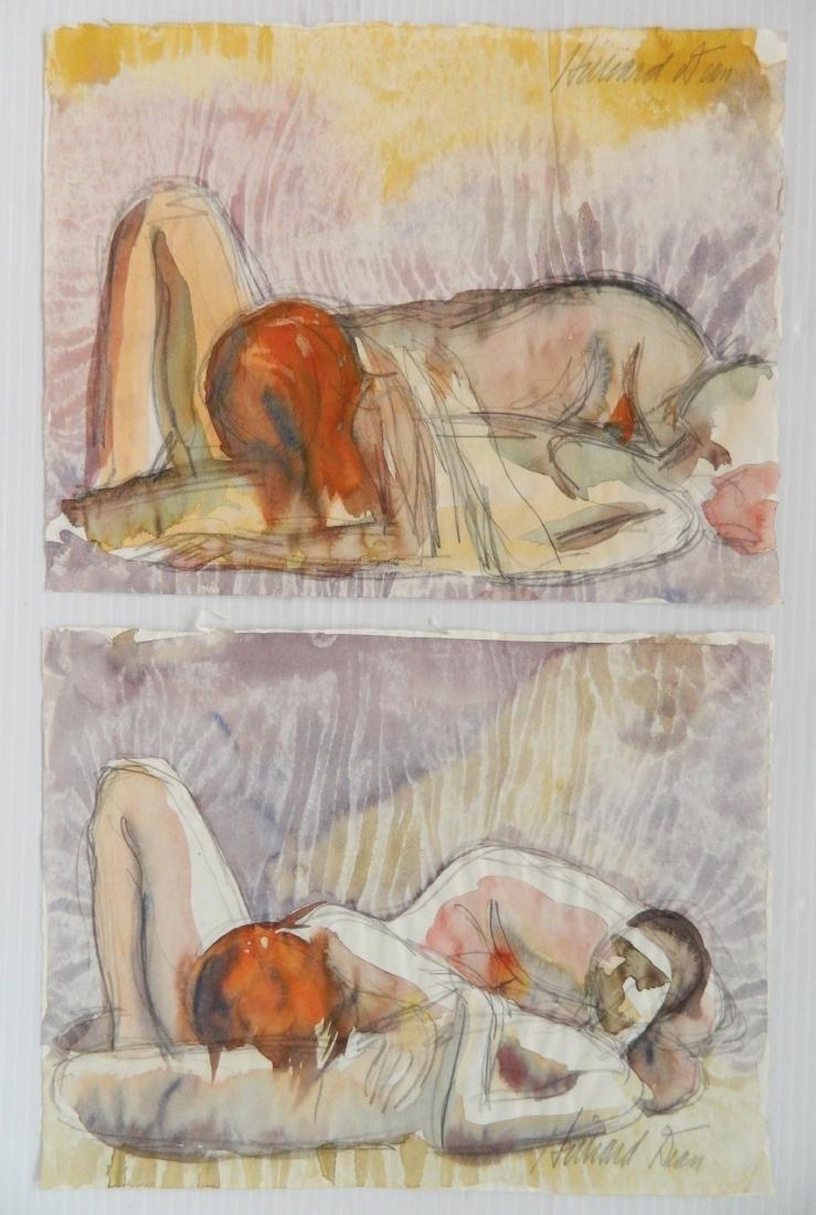Hilliard Dean 5 watercolors - 4