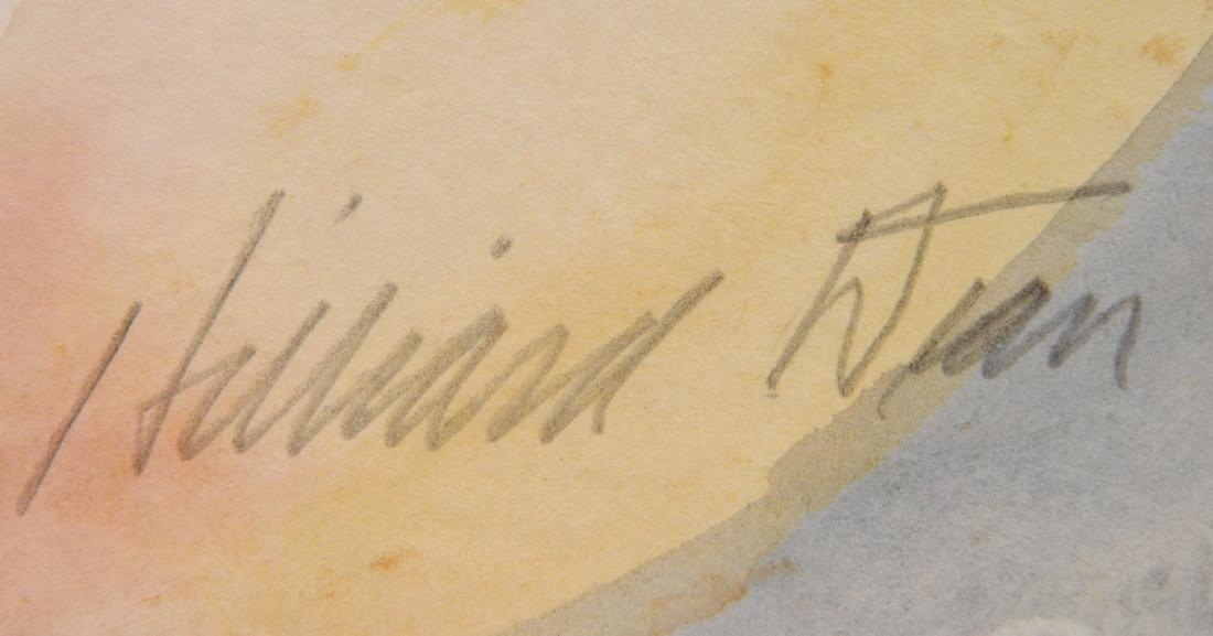 Hilliard Dean 5 watercolors - 5