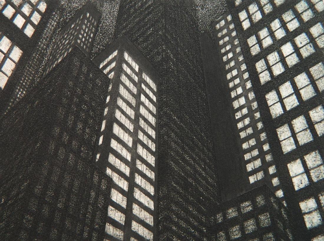 Michael Di Cerbo etching