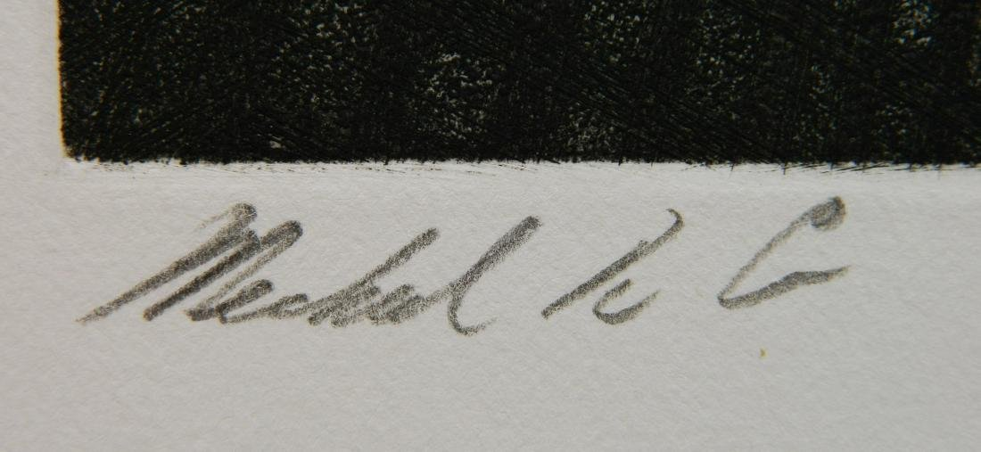 Michael Di Cerbo etching - 2