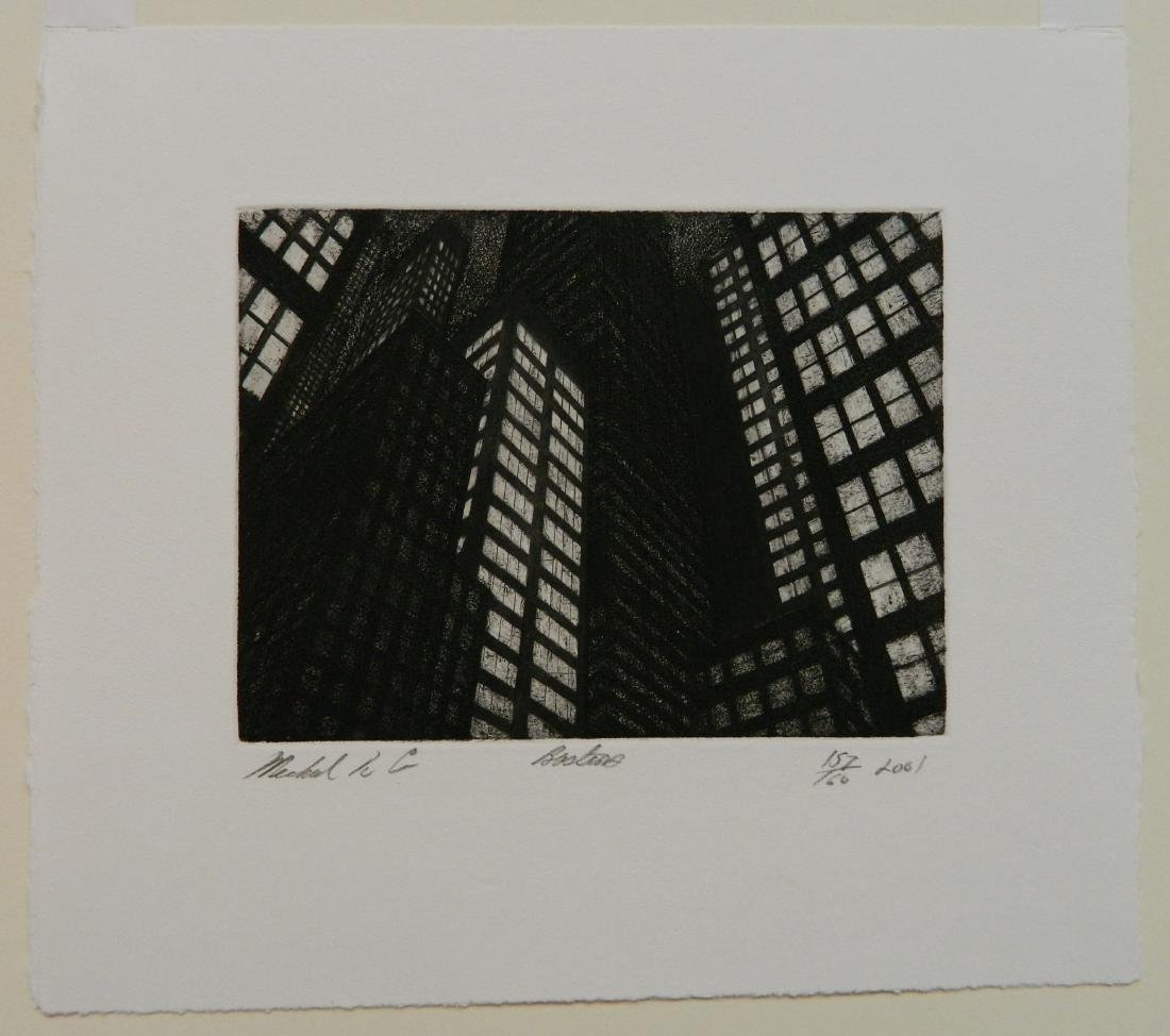 Michael Di Cerbo etching - 4