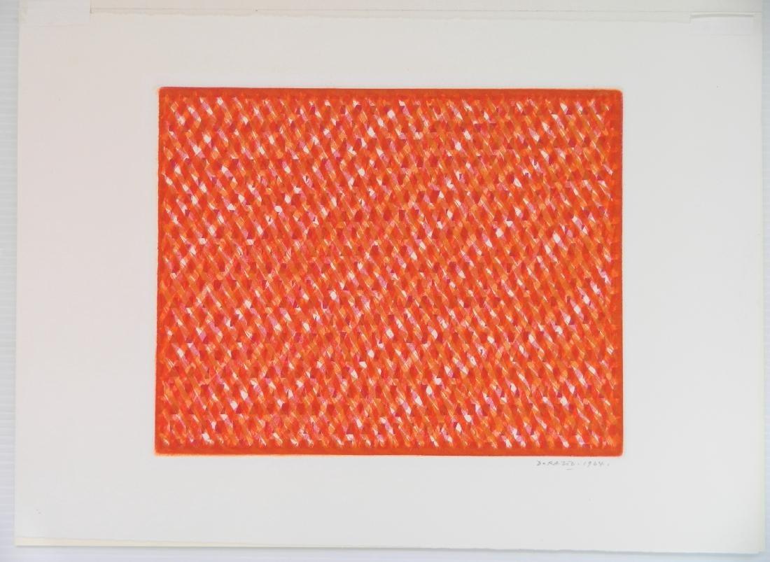 Piero Dorazio etching and aquatint - 2