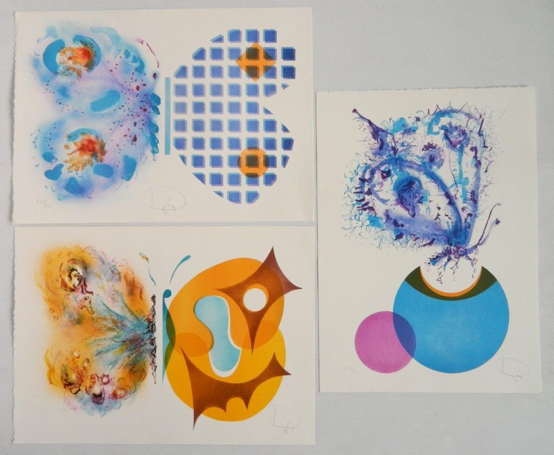 Laszlo Dus lithographs