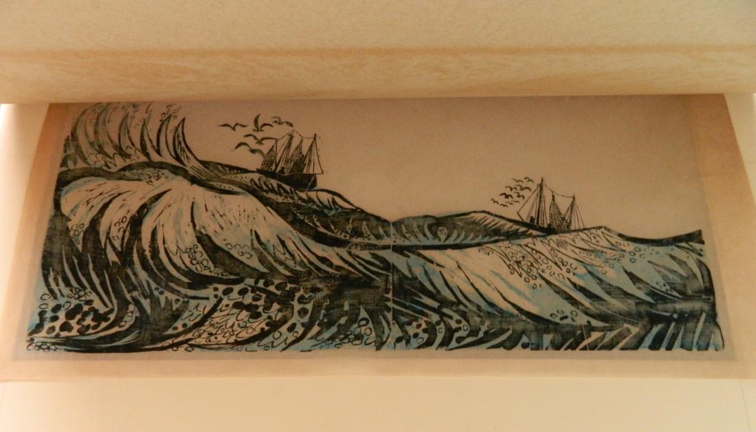 T. Elsner; L. Pierce - 2 woodcuts - 6