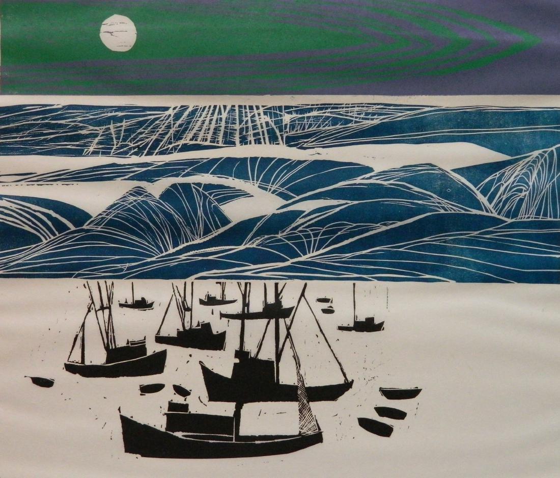 T. Elsner; L. Pierce - 2 woodcuts - 7
