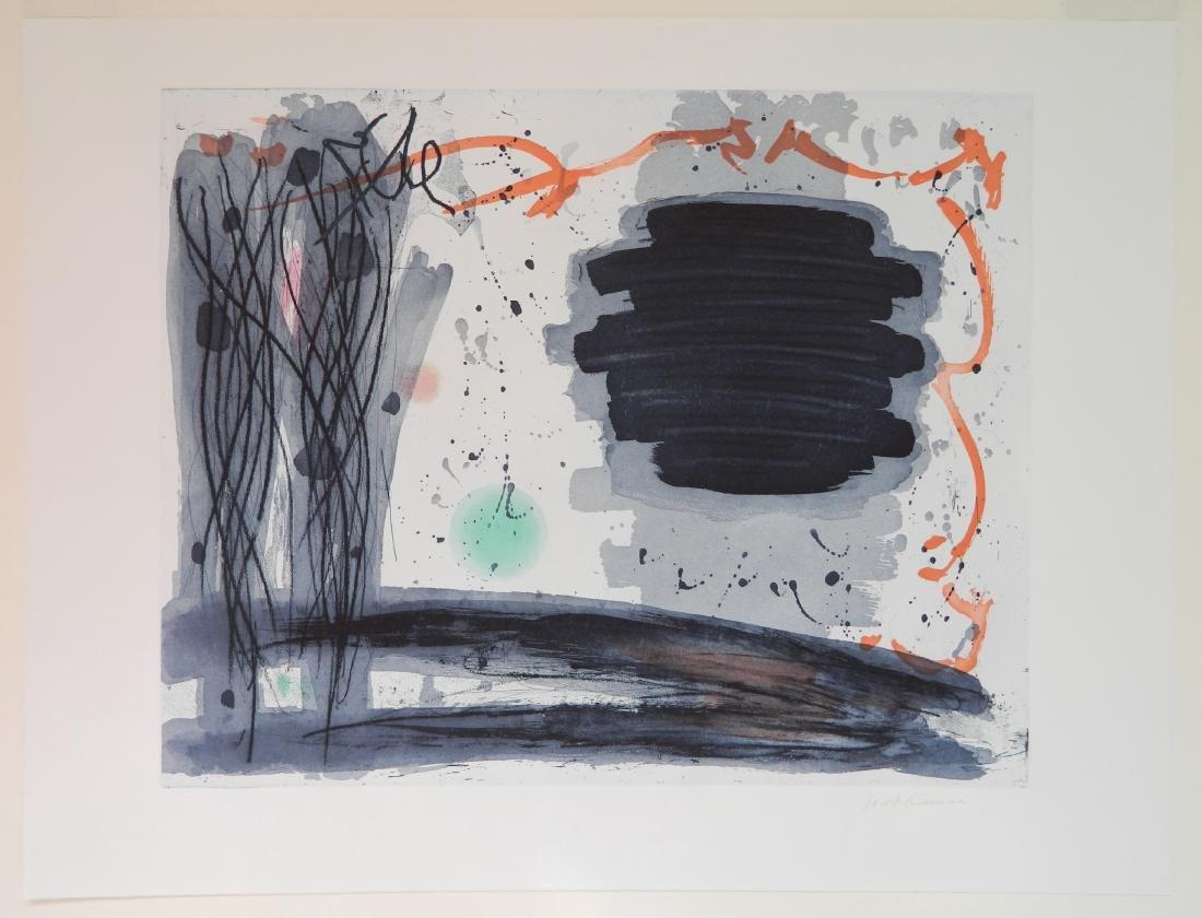 Jacob Kainen etching - 2