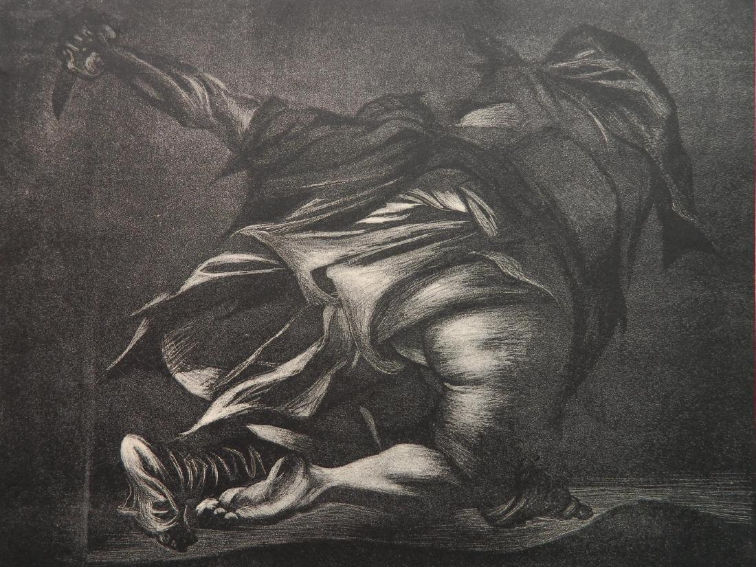 Rico Lebrun lithograph