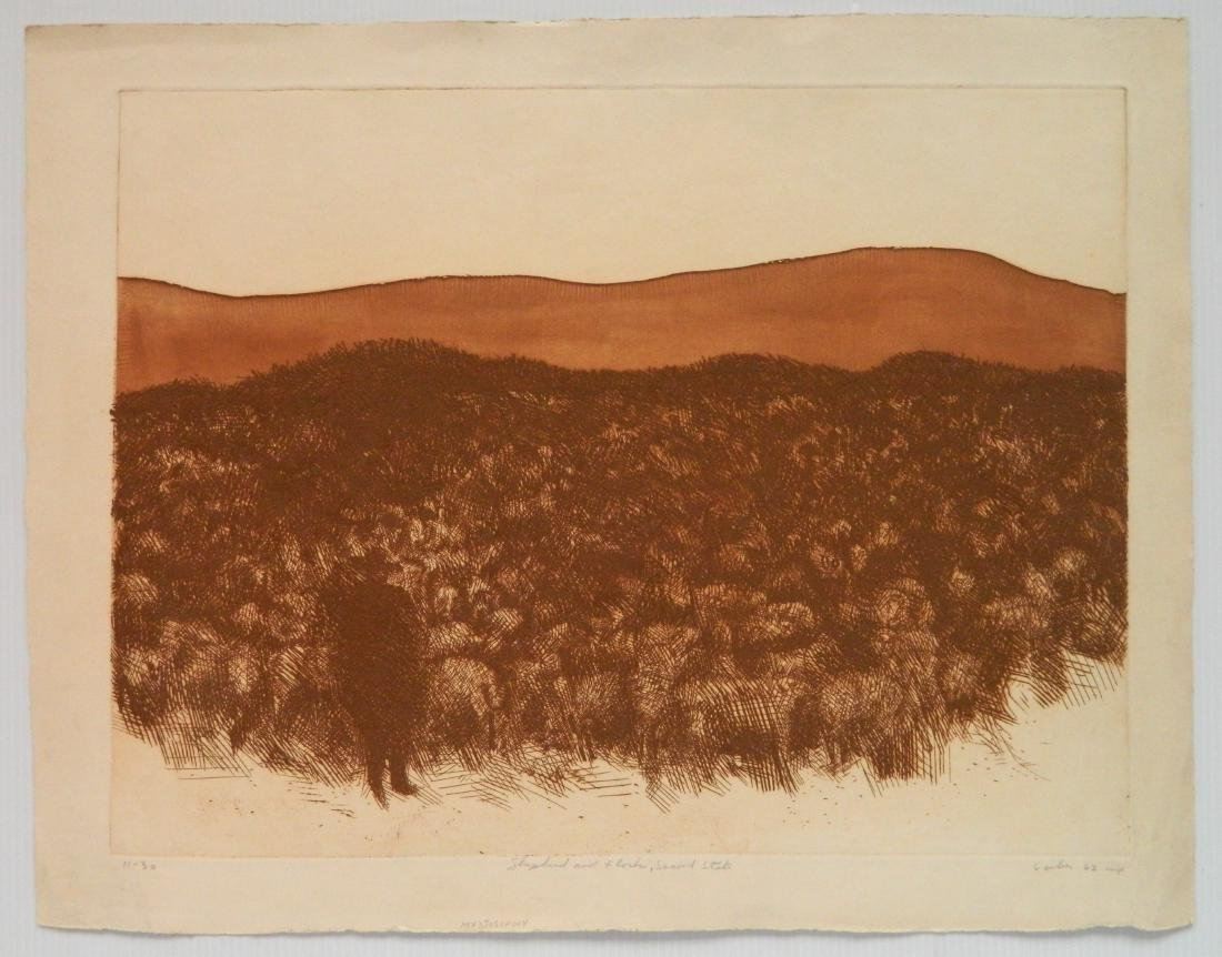 Gerson Leiber 2 etching and aquatint - 5