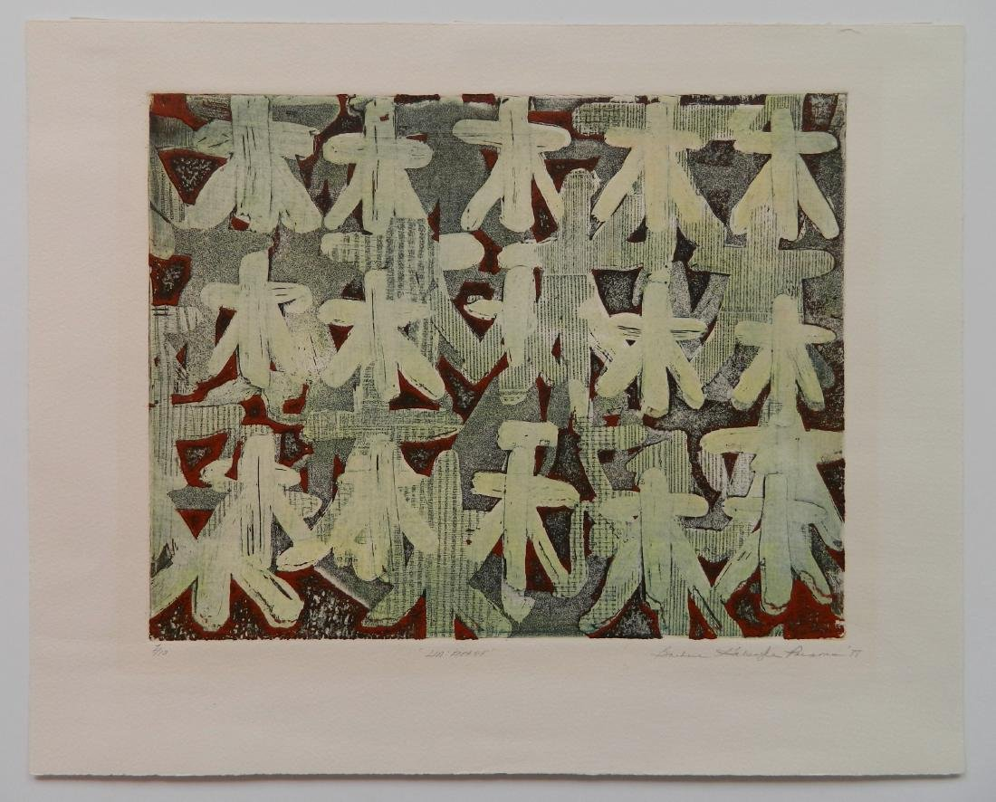 Barbara Parsons 2 etchings - 3