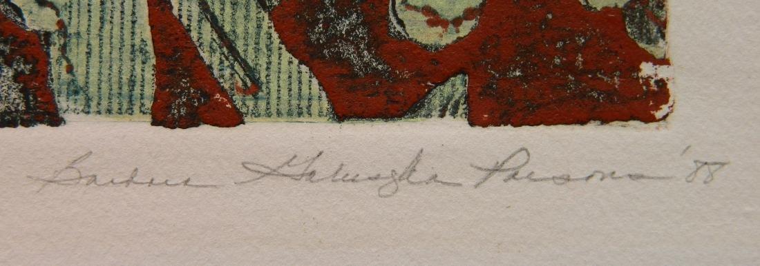 Barbara Parsons 2 etchings - 4
