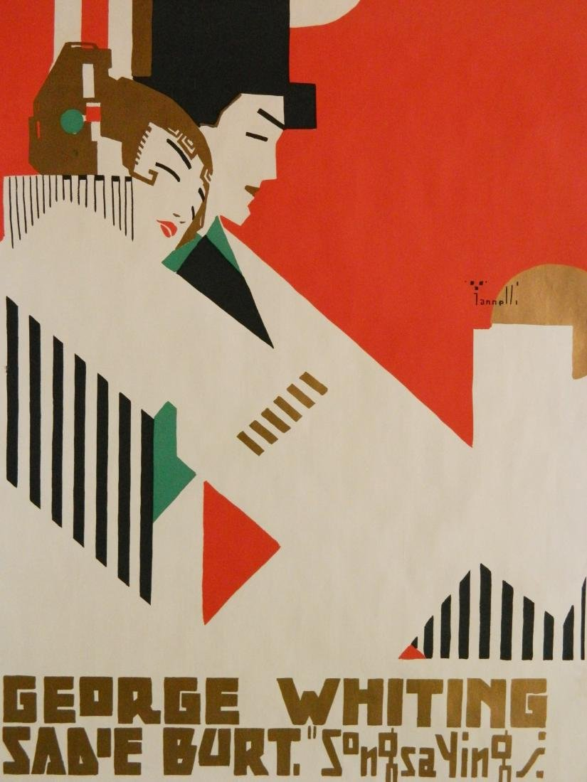Alphonse Iannelli lithographic poster